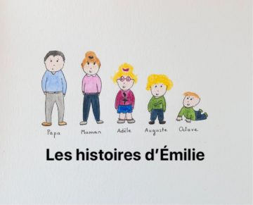 Les histoires d'Emilie, c'est tous les mardis dans l'espace ressources!