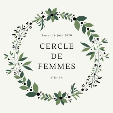 Un cercle de femmes: une proposition signée Anaïs!