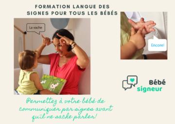 """Une rencontre avec Stéphanie Lauron, pour parler de la méthode """"bébé signeur""""! Le replay est dans l'espace ressources!"""